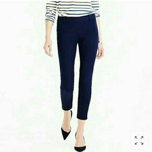 J. Crew Minnie Navy Blue Pant Size 4